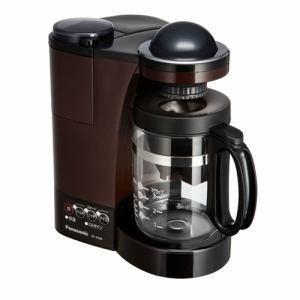 「納期約2週間」NC-R500-T[Panasonic パナソニック] ミル付き浄水コーヒーメーカー ブラウン NCR500T|kimuraya-select