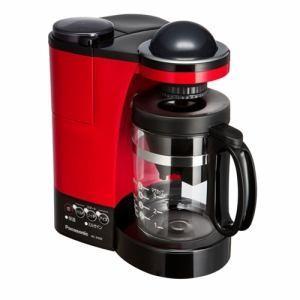 「納期約2週間」NC-R400-R[Panasonic パナソニック] ミル付き浄水コーヒーメーカー レッド NCR400R|kimuraya-select
