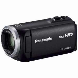「納期約7〜10日」HC-V480MS-K [Panasonic パナソニック] デジタルハイビジョンビデオカメラ ブラック HCV480MSK