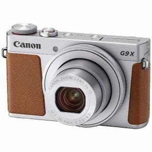 ◆「在庫あり翌営業日発送OK A-8」「お一人様1台限り」canon キヤノン PSG9XMK2SL コンパクトデジタルカメラ PowerShot G9 X Mark II シルバー|kimuraya-select
