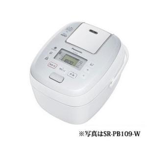 「納期約3週間」Panasonic パナソニック SR-PB109-W 可変圧力IHジャー炊飯器(5.5合炊き) ホワイト おどり炊き|kimuraya-select