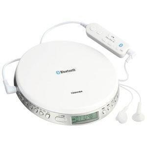 「納期約7〜10日」TOSHIBA 東芝 TY-P3-W Bluetooth対応スピードコントロール付ポータブルCDプレーヤー TYP3W|kimuraya-select