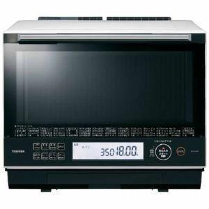 「納期約7〜10日」「代引き不可」TOSHIBA 東芝 ER-TD5000-W 過熱水蒸気オーブンレンジ 石窯ドーム 30L グランホワイト ERTD5000|kimuraya-select