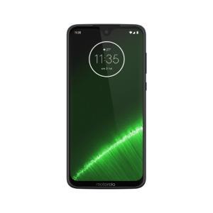 「納期約7〜10日」モトローラ Moto G7 Plus PADU0003JP SIMフリースマートフォン ディープインディゴ|kimuraya-select