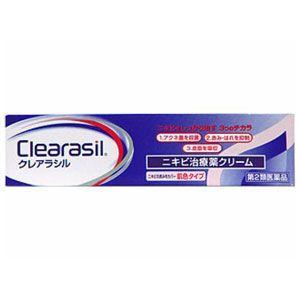 「第2類医薬品」クレアラシル ニキビ治療薬クリーム肌色タイプ...