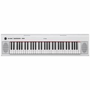 NP-12WH [YAMAHA ヤマハ] 電子キーボード piaggero ピアジェーロ 61鍵盤 ホワイト NP12WH