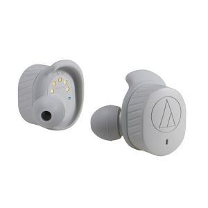 audio-technica オーディオテクニカ ATH-SPORT7TW-GY 完全ワイヤレス B...