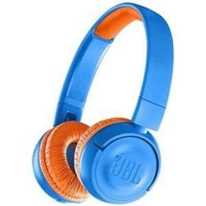 「納期約7〜10日」JBLJR300BTUNO JBL キッズ向け Bluetooth ヘッドホン ブルー/オレンジ|kimuraya-select