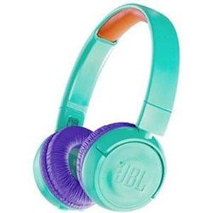 「納期約7〜10日」JBLJR300BTTEL JBL キッズ向け Bluetooth ヘッドホン ティール/パープル|kimuraya-select