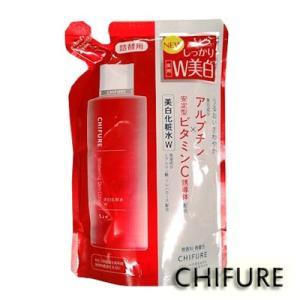 [ちふれ CHIFURE] 美白化粧水 W つめかえ用 180ml