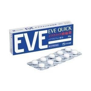 「第(2)類医薬品」「税 控除対象」EVE イブクイック 頭痛薬 20錠 kimuraya-select