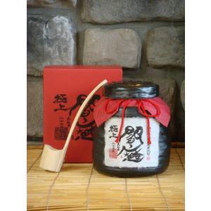 麦焼酎 長期貯蔵麦焼酎25° 極上閻魔甕 1800ml|kimuraya