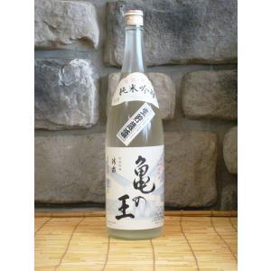 清泉 亀の王 純米吟醸 生貯 1800ml 新潟県 地酒 日本酒|kimuraya