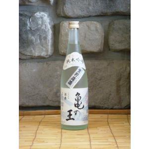 清泉 亀の王 純米吟醸 生貯 720ml 日本酒 新潟県 地酒|kimuraya