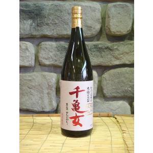 芋焼酎  紫芋仕込 千亀女 25度 1800ml|kimuraya
