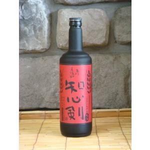 【麦焼酎】 知心剣(しらしんけん) 720ml|kimuraya