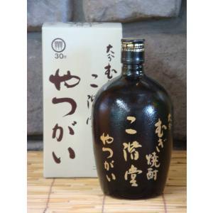 麦焼酎 やつがい 30度 720ml|kimuraya