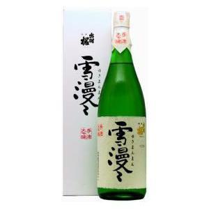 出羽桜 雪漫々大吟醸 1800ml 日本酒 東北 山形県 地酒