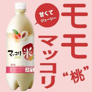 麹醇堂米マッコリ 桃味750ml×6本セット (クッスンダン...