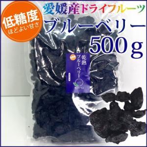 愛媛産 低糖ドライブルーベリー500g