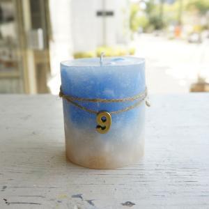 kinariオリジナル誕生石カラーキャンドル(BOX付き) 9月 サファイア|kinaricandle