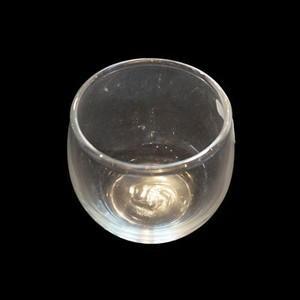 キャンドル用ガラス容器 バブルボールS (フィルム付)(144個)|kinaricandle