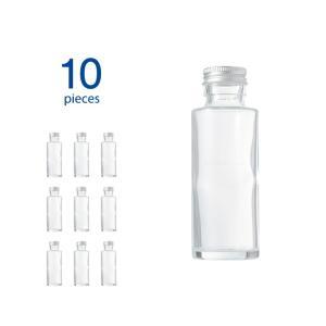 ハーバリウム瓶 ストレート114ml フタ付き 10個セット