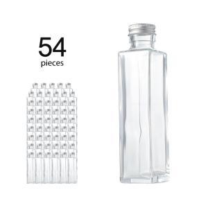 ハーバリウム瓶 スクエア164ml フタ付き 54個セット|kinaricandle