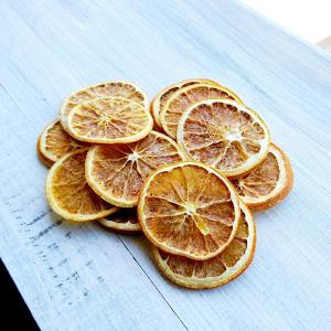 ドライパーツ オレンジ 【アロマワックスサシェ材料 キャンドル材料 ドライフラワーリース材料 ドライフルーツ】