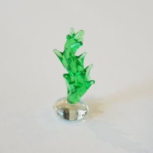 ガラス細工 水草B  【 ミニチュアサイズ 装飾 オブジェ 置物 ジェルキャンドル材料 】|kinaricandle