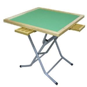 麻雀卓 麻雀テーブル ハイキャスト 折りたたみ式 立卓 N-2 娯楽 マージャン デイサービス レクリエーション 脳トレーニング 【代引き不可】 送料無料対象外|kinchan