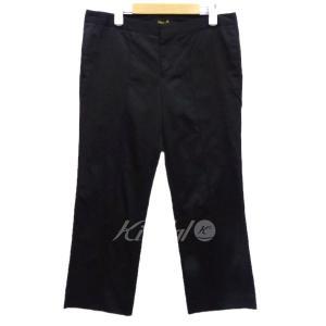 【4月23日値下】DRAWER クロップドパンツ ブラック サイズ:- (京都店)|kindal