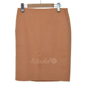 DRAWER カシミア混タイトスカート ピンク サイズ:36 (堀江店) 190626|kindal