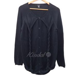 Ksubi ケーブルニットカーディガン ブラック サイズ:XS (フレスポ東大阪店) 190820|kindal