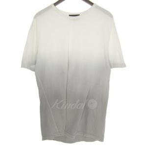 3.1 phillip lim グラデーションTシャツ ホワイト×グレー サイズ:S (三宮店) 190820|kindal
