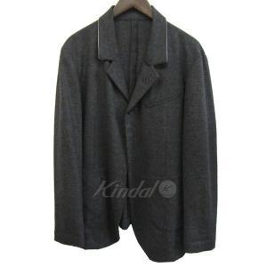 THEE ノッチド1Bデザインジャケット グレー サイズ:1 (三宮店) 190820|kindal