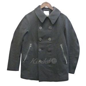 VISVIM ×Harris Tweed/GORE-TEX 「LIEUTENANT COAT」 ピーコート ブラック サイズ:M (新宿店) 1711|kindal