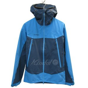 MAMMUT GORE-TEX Pro Meron Jacket マウンテンパーカー ブルー サイズ:M (三宮店) 190802|kindal