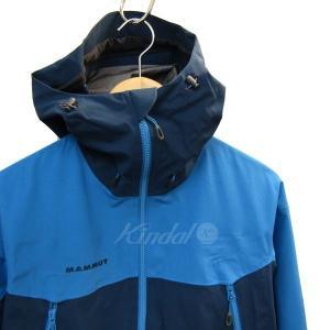 MAMMUT GORE-TEX Pro Meron Jacket マウンテンパーカー ブルー サイズ:M (三宮店) 190802|kindal|03