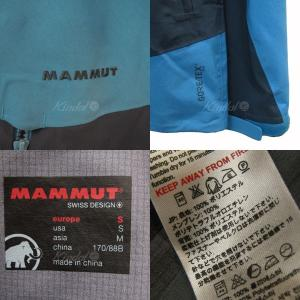 MAMMUT GORE-TEX Pro Meron Jacket マウンテンパーカー ブルー サイズ:M (三宮店) 190802|kindal|05