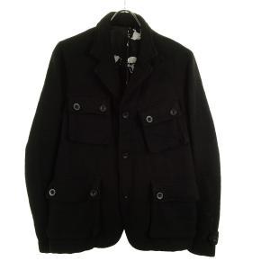 Pledge×Harris Tweed ウールジャケット ブラック サイズ:48 (和歌山店) 191023|kindal