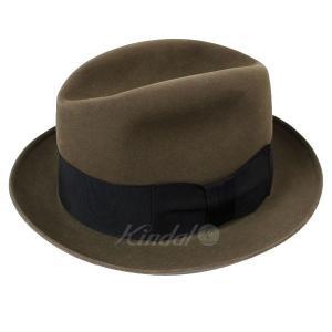 【11月13日値下】Cavanagh Hats ハット ブラウン サイズ:7 1/8 (高槻店)|kindal