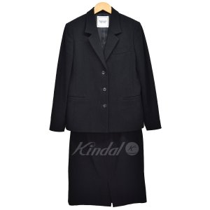 【SALE】 【30%OFF】 Mademoiselle NON NON 3Bセットアップ スーツ ジャケット スカート サイズ:36 (新潟亀田店) kindal