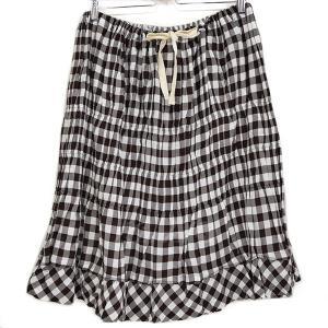 【SALE】 【20%OFF】 tricot COMME des GAR ギンガムチェックスカート 2009SS サイズ:- (新潟亀田店)|kindal