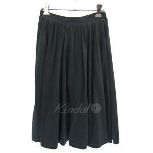 Ron Herman カットソーギャザースカート ブラック サイズ:XS (三宮店) 190503 kindal