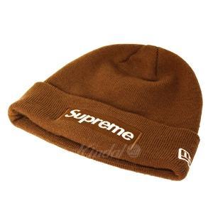 4cc962d61ea Supreme×NEW ERA 2016AW Box Logo Beanie 同色 ボックスロゴ ビ.