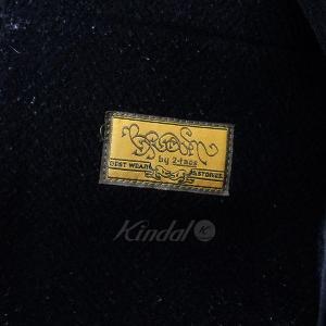 【12月14日値下】BROWN by 2-tacs ブラウンバイツータックス P-COAT オーバーシルエット ピーコート コート ブラック サイズ:|kindal|05