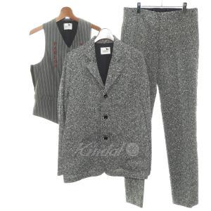 GANGSTERVILLE 2017AW 3ピーススーツ グレー サイズ:M/M/M (渋谷店) 190603 kindal