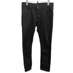 DSQUARED2 2018SS 「Skater jean」ストレッチデニムパンツ ブラック サイズ:42 (自由が丘店) 190823 kindal