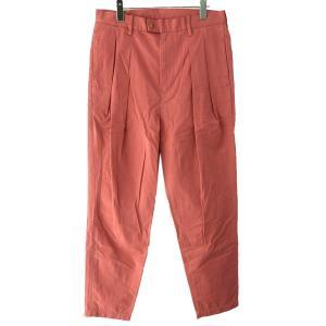 MAISON EUREKA 19SS「BURBERRY CLOTH TUCK PANTS」バーバリークロスタックパンツ ピンク サイズ:L (原宿店) kindal